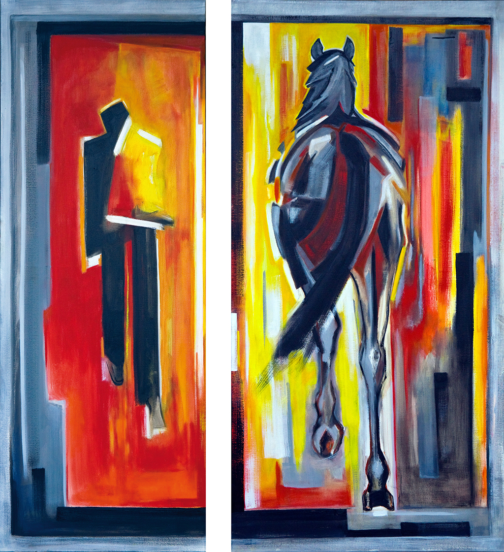Man en Paard (2014)